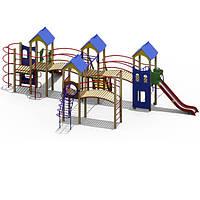 """Детские площадки от производителя """"Крепость"""" для улицы"""