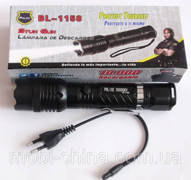 LED -фонарик Police BL-1158