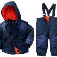 Зимний комбинезон раздельный синий с курткой 3 в 1 Old Navy(США) для мальчика 3-5 лет