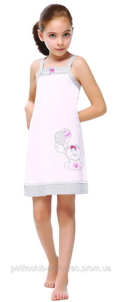 """Ночная рубашка для девочки """"Медвежонок"""" (Турция)"""