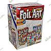 FOIL ART 10шт Большой комплект аппликаций фольгой по номерам