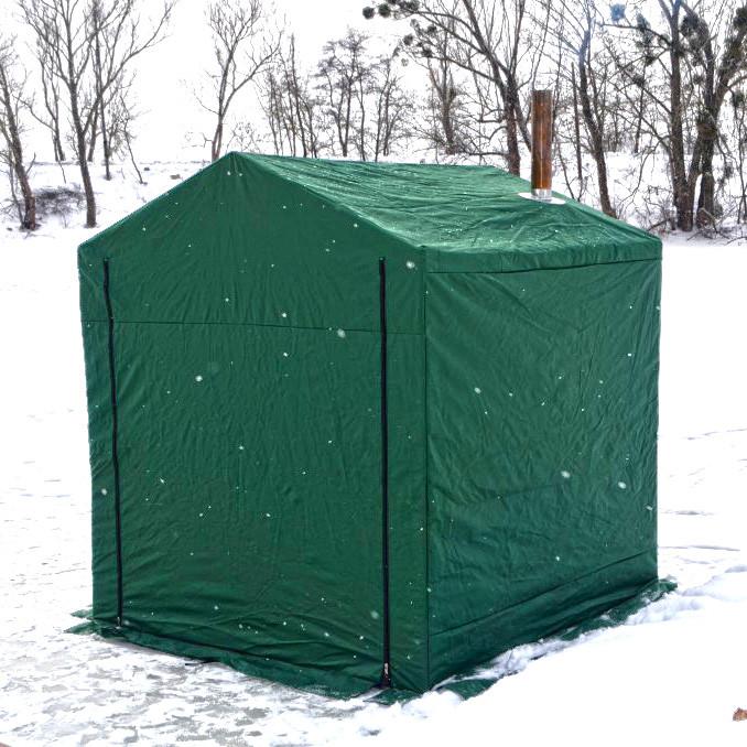 Мобильная баня ТРОЯН BASIC (2м*2м)
