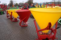 Разбрасыватель удобрений Jar Met 200 л.(пластик.) Польша Agromech, фото 1
