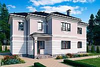 MX96. Двухэтажный коттедж в классическом стиле