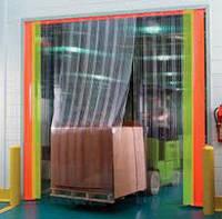 Завеса ленточная из ПВХ 3 х 3 для склада усиленная