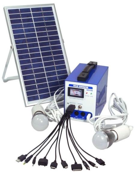 Cистема на солнечных батареях Турист 6