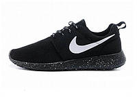 Кроссовки Nike Roshe Run р.40-44 Черные