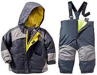 Зимний комбинезон с курткой 3 в 1 для мальчика  Old Navy(США) раздельный серый