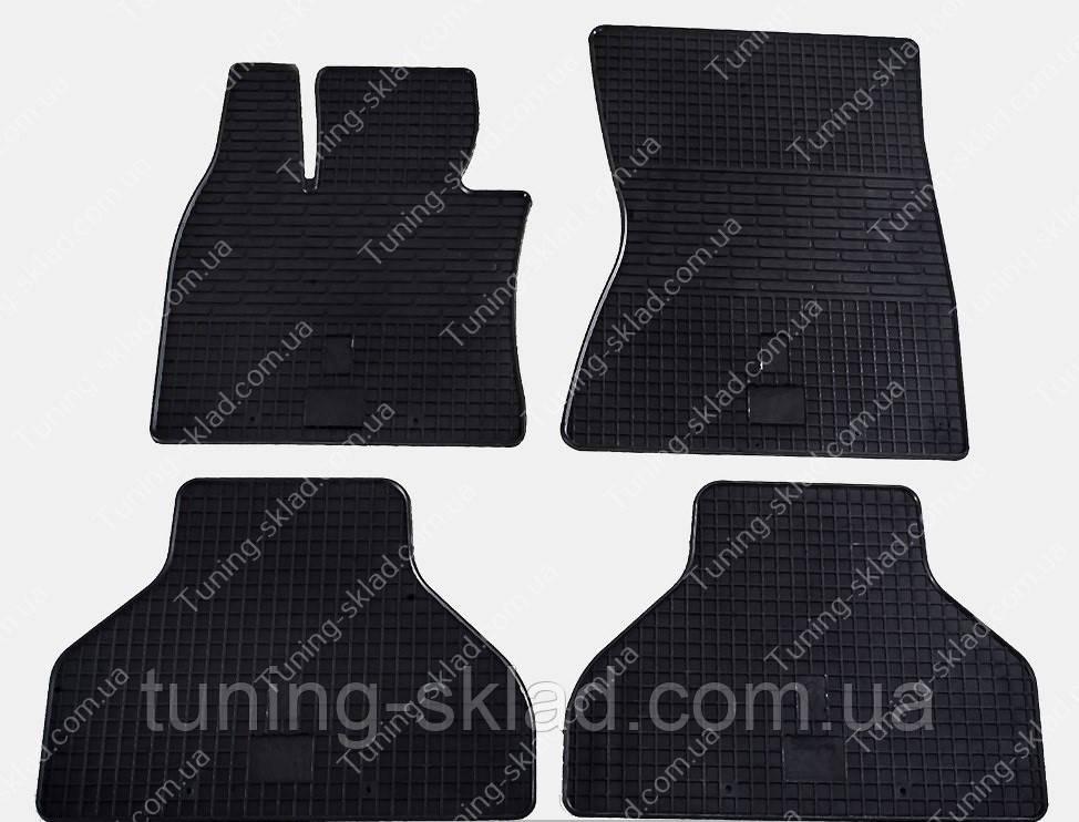 Резиновые коврики БМВ Х6 Е71 в салон ( коврики для Bmw X6 E71)