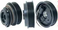 Шкив компрессора кондиционера в сборе DENSO MERCEDES 120mm/6pk 12V