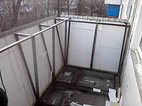 Вынос балконной плиты