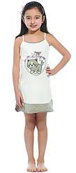 """Ночная рубашка для девочки """"Happy Kitty"""" (Sevim, Турция)"""