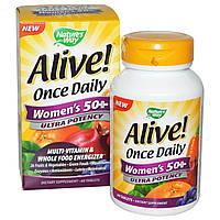 Мультивитаминный комплекс (2 месяца) для женщин за 50. Alive! Ultra Potency. Сделано в США.