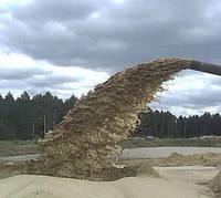 Намыв песка на пляж