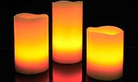 Набор светодиодных свечей S-3PC, Оригинальные подарки, Световой декор, Светодиодные светильники