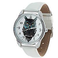 Наручные часы «Филин» белый