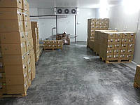 Устройство бетонных полов в холодильных камерах