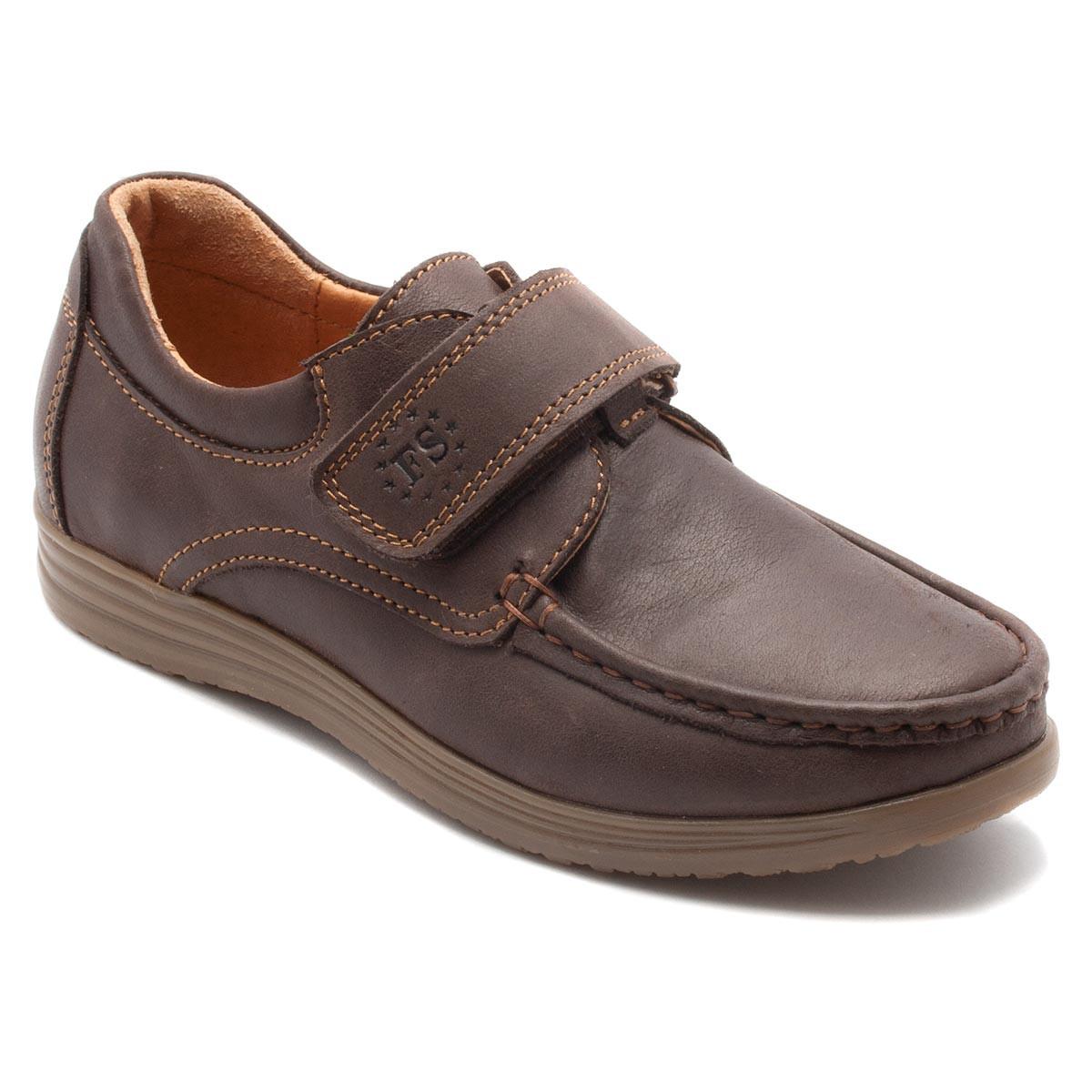 Туфли FS Сollection коричневые для мальчика, размер 31-39