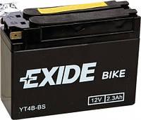Аккумулятор Exide 12V 2.3AH/35A (YT4B-BS)