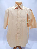 016КР Мужская рубашка с коротким рукавом CASA MODA