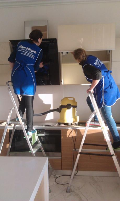 После строительная уборка квартир от компании Евроуборка  3