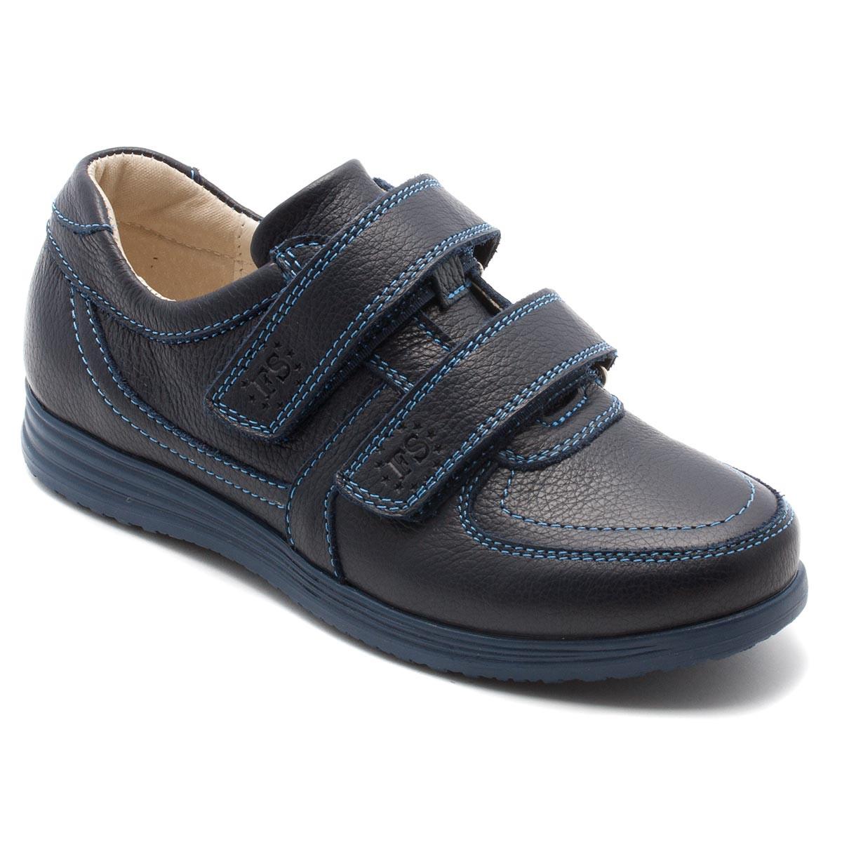 Синие туфли FS Сollection для школы, размер 31-39
