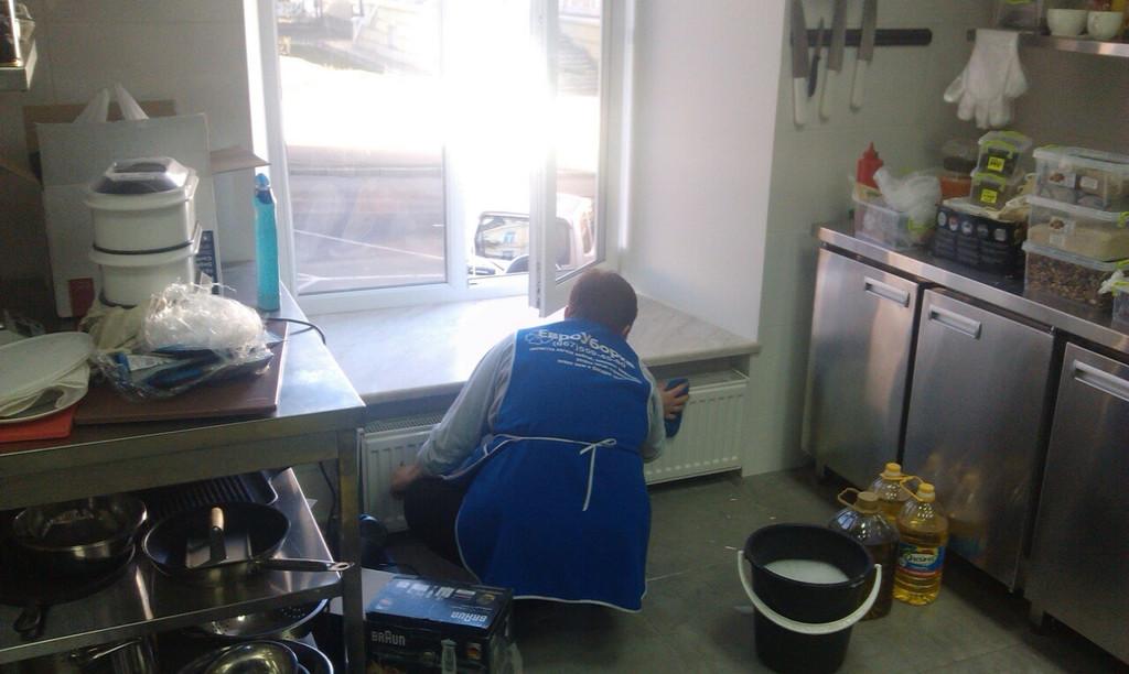 После строительная уборка квартир от компании Евроуборка  4