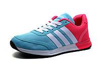Кроссовки Adidas женские, мятно-розовые,р.39