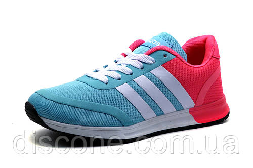 Кроссовки Adidas женские, мятно-розовые, р. 39 41