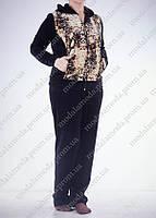 Стильный спортивный женский костюм (батал)