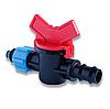 Кран стартовый с поджимом для многолетней трубы капельного полива Presto-PS ОV 0516 (50 шт в уп.)