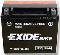 Аккумулятор Exide 12V 18AH/270A (YTX20HL-BS)