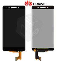 Дисплей + touchscreen (сенсор) для Huawei Honor 7, черный, оригинал