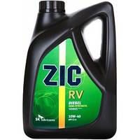 Масло моторное Zic Rv 10W-40 6л