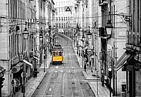 Фотообои флизелиновые Улицы Лиссабона 366*254 Код 971