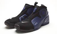 Кроссовки для баскетбола Nike Air Flightposite Black-blue
