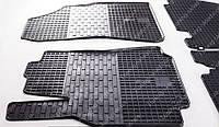 Резиновые коврики Ситроен Берлинго 2 (коврики Citroen Berlingo new 2 шт, в салон)
