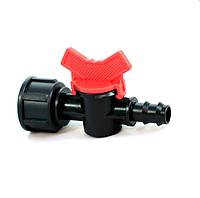 Кран стартовый с внутренней резьбой 3/4 для 16 трубки капельного полива Presto-PS BF 011634 (50 шт в