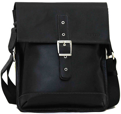 Мужская оригинальная сумка из натуральной кожи VATTO MK29Кaz1 черный