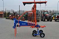 Грабли роторные карусельные Metal-technik (3,5 м., на тандеме с карданным валом) (Польша)