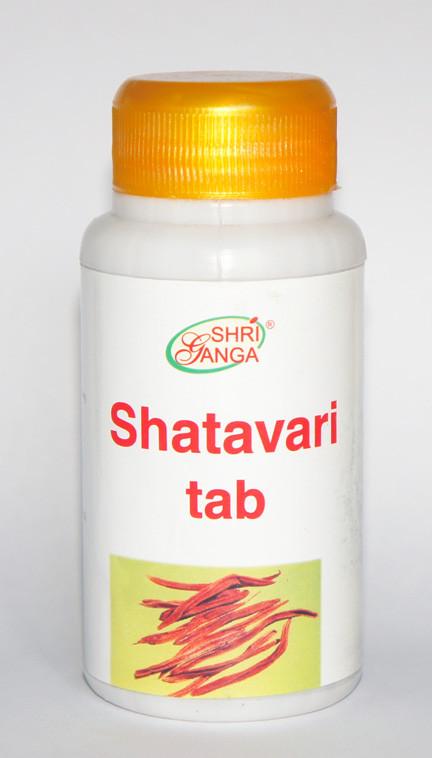 Шатавари 120 табл — заболевания женской половой сферы, стресс, усталость, раннее старение, язва желудка