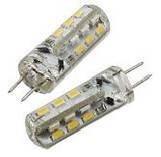 Лампочка светодиодная G4 (LED) 1,5-5W (12V AC-DC)