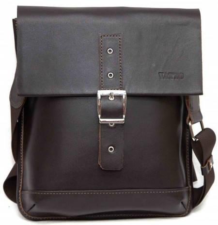 Мужская стильная сумка из натуральной кожи VATTO MK29Кaz400 коричневый