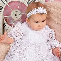 Нарядное платье Глория (Глафира) от Miminobaby белое на 3 годика