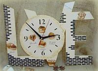 LOVE основа для часов заготовка для декупажа и декора