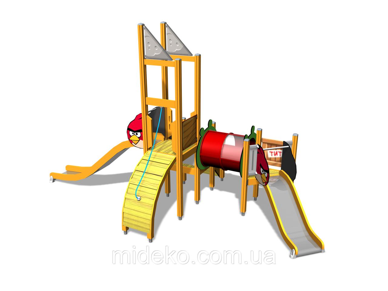"""Детский игровой комплекс """"Angry Birds"""" L"""