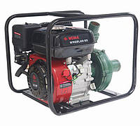 Мотопомпа (насос) бензиновая WEIMA WMQBL65-55 (бензин, высоконапорная, напор 60 м., хорошо для капельного)