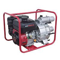 Мотопомпа (насос) бензиновая WEIMA WMPW80-26 (для грязной воды, патрубок 80мм)