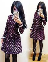"""Модное стильное платье """"CHANEL"""" в разных цветах. Артикул SM13"""