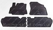Резиновые коврики Citroen Berlingo 2 (коврики для Ситроен Берлинго 2, полный комплект)